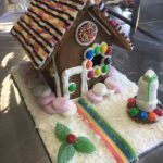 Students Use Technology to Create Gingerbread Houses