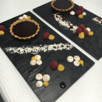 Spiced Dark Chocolate Tart