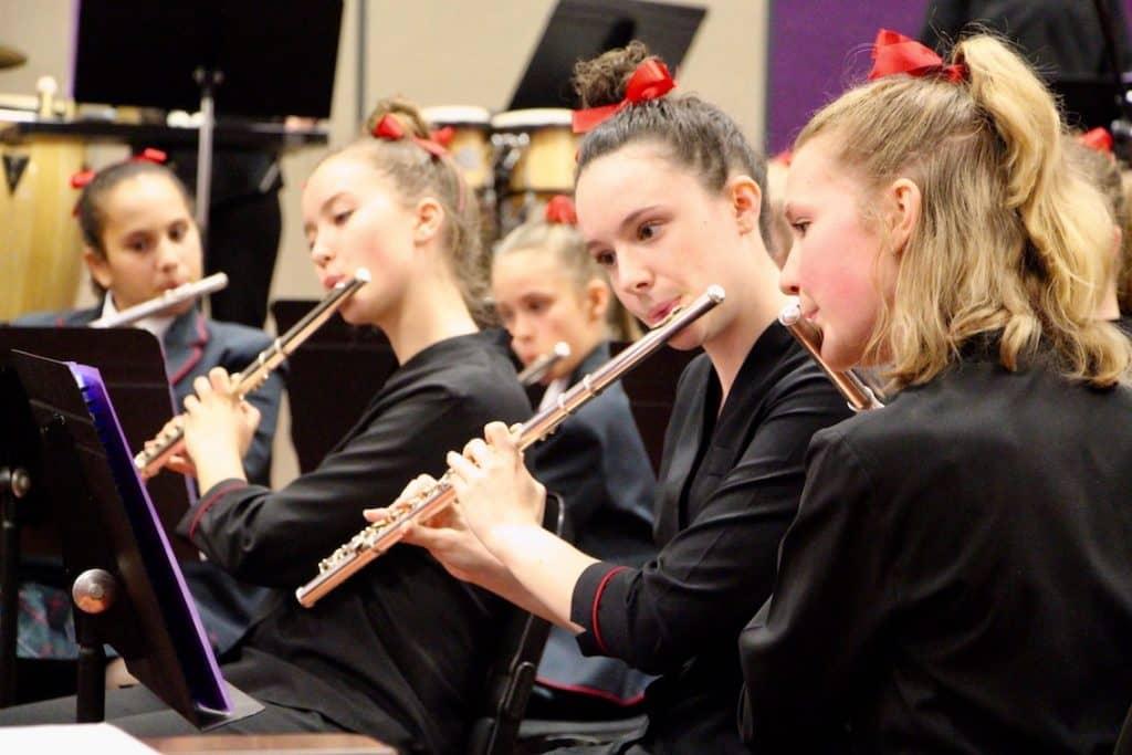 Santa Maria Students Showcase Music Talent