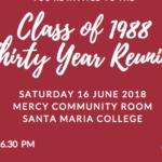 Class of 1988 Reunion