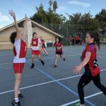 Santa Maria Plays Singapore Teams in Perth Netball Tour