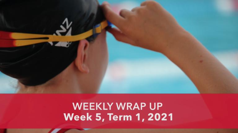 Weekly Wrap Up: Week 5, Term 1, 2021